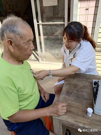"""赣州三康医院""""关爱生活,关爱健康,服务大众""""义诊活动"""